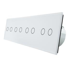 Włącznik dotykowy 2+2+2+2 zestaw WELAIK