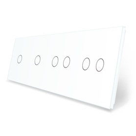 Panel szklany 1+1+2+2 biały WELAIK