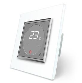 Termostat pokojowy regulator temperatury 01TM-15/SR-11 komplet z ramką szklaną LIVE ON LOVE