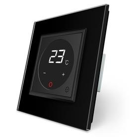 Termostat pokojowy regulator temperatury 01TM-12/SR-12 komplet z ramką szklaną LIVE ON LOVE