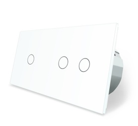 Włącznik dotykowy 1+2 zestaw