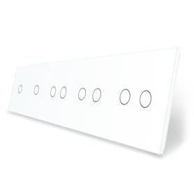 Panel szklany 1+1+2+2+2 biały WELAIK