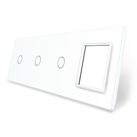 Panel szklany 1+1+1+G biały WELAIK