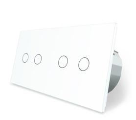 Włącznik dotykowy 2+2 zestaw