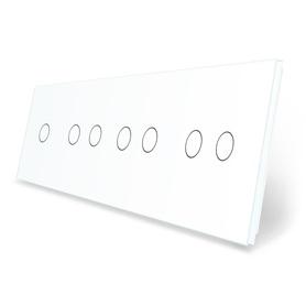 Panel szklany 1+2+2+2 biały WELAIK