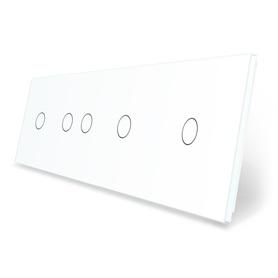 Panel szklany 1+2+1+1 biały WELAIK