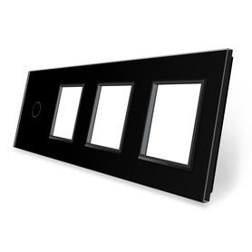 Panel szklany 1+G+G+G czarny WELAIK