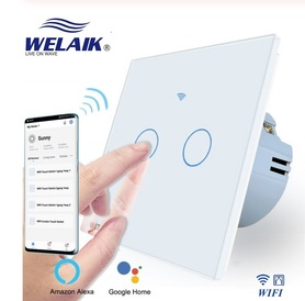 Włącznik WIFI roletowy / żaluzjowy zestaw biały WELAIK ®