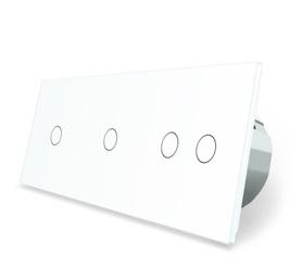 Włącznik dotykowy 1+1+2 zestaw