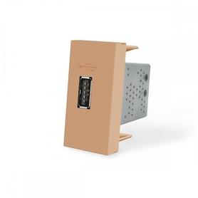 Moduł ładowarki USB 2,1A złoty