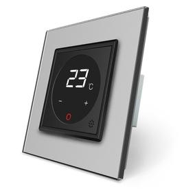 Termostat pokojowy regulator temperatury 01TM-12/SR-15 komplet z ramką szklaną LIVE ON LOVE