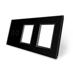 Panel szklany 2+G+G czarny WELAIK