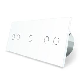 Włącznik dotykowy 2+1+2 zestaw