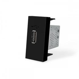 Moduł ładowarki USB 2,1A czarny