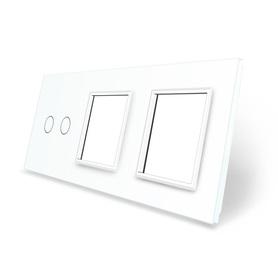 Panel szklany 2+G+G biały WELAIK