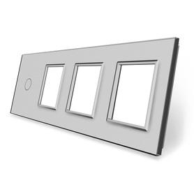 Panel szklany 1+G+G+G szary