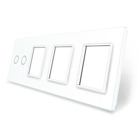 Panel szklany 2+G+G+G biały WELAIK
