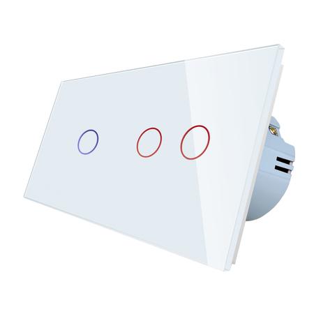 WELAIK włącznik 1+2 biały