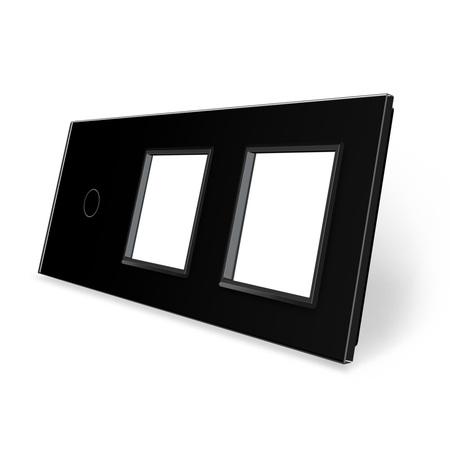 Panel szklany 1+G+G czarny WELAIK (1)
