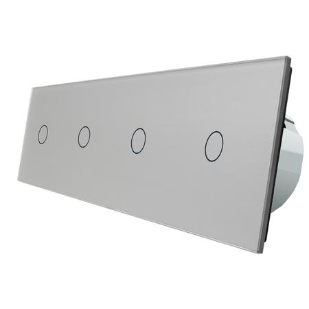Włącznik dotykowy 1+1+1+1 zestaw WELAIK (3)