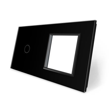 Panel szklany 1+G czarny WELAIK (1)
