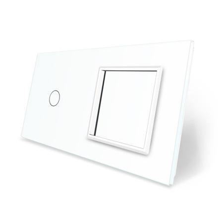 Panel szklany 1+G biały WELAIK (1)