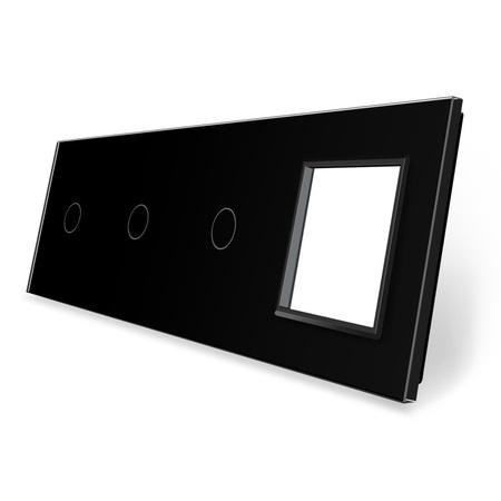 Panel szklany 1+1+1+G czarny WELAIK (1)