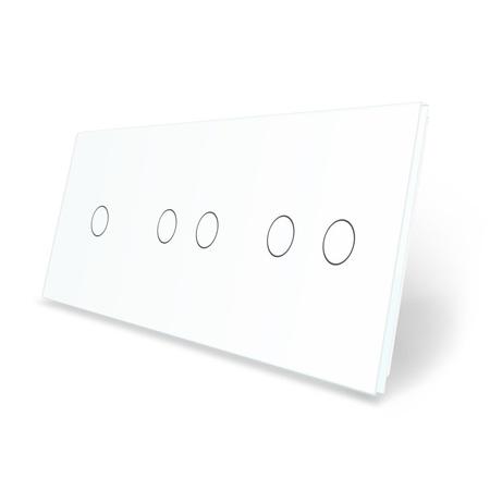 Panel szklany 1+2+2 biały WELAIK (1)