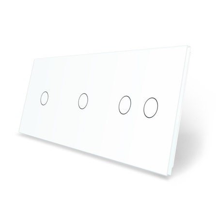 Panel szklany 1+1+2 biały WELAIK (1)