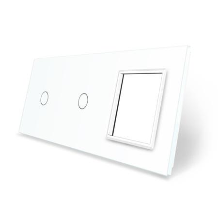 Panel szklany 1+1+G biały WELAIK (1)