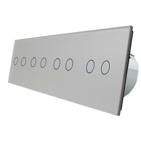 Włącznik dotykowy 2+2+2+2 zestaw WELAIK (3)