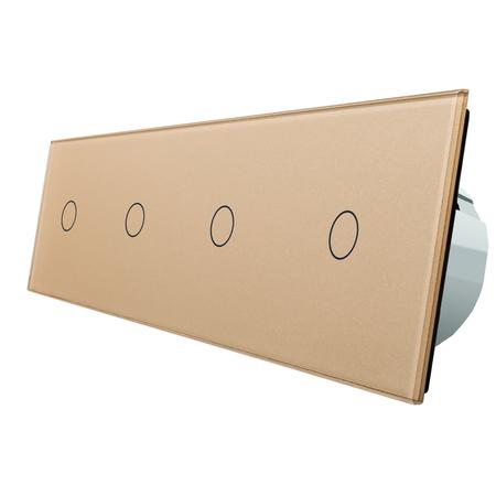 Włącznik dotykowy 1+1+1+1 zestaw WELAIK (4)