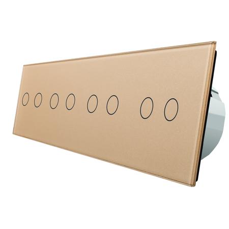 Włącznik dotykowy 2+2+2+2 zestaw WELAIK (4)